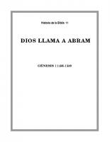011 Dios llama a Abram