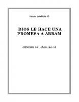 015 Dios le hace una promesa a Abram