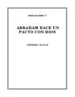 017 Abraham hace un pacto con Dios