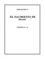 019 El nacimiento de Isaac