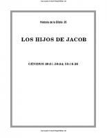 026. Los hijos de Jacob