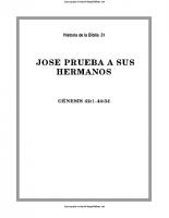 031. Jose prueba a sus hermanos