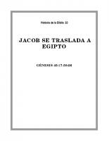 033 Jacob se traslada a Egipto