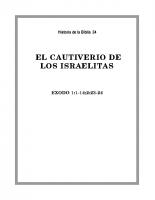 034 El cautiverio de los Isrraelitas