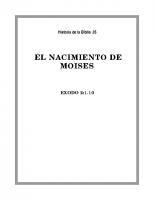 035 El nacimiento de Moises