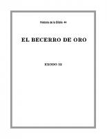 044 El Becerro de oro