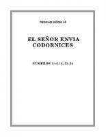 048 El Señor envia Codornices