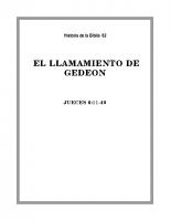 062 El llamamiento de Gedeon