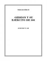 063 Gedeon y su ejercito de 300