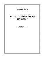 064 El nacimiento de Sanson