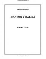 065. Sanson y Dalila