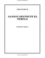 066. Sanson destruye el templo