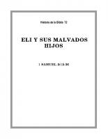 072 Eli y sus malvados hijos