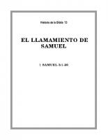 073 El llamamiento se Samuel