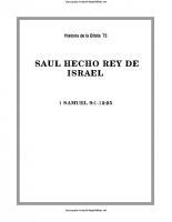 075. Saul hecho rey de Israel