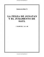 076. La pelea de Jonatan y el juramento de Saul