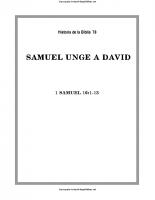078. Samuel unge a David