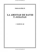 080. La amistad de David y Jonatan