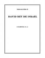 083 David Rey de Israel