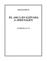 084 El Arca es llavada a Jerusalen