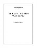 085 El pacto de Dios con David