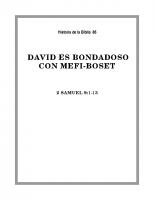 086 David es bondadoso con mefi-boset