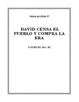 087 David censa el pueblo y compra la Era