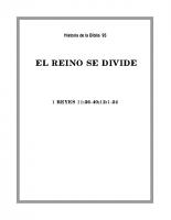 095 El Reino se divide