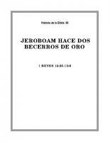 096 Jeroboam hace dos becerros de oro