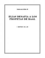 099 Elias desafia a los profetas de baal