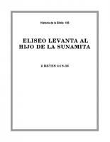 106 Eliseo lavanta al hijo de la Sunamita