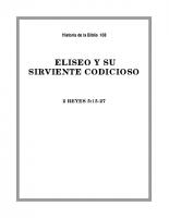 108 Eliseo y su sirviente codicioso