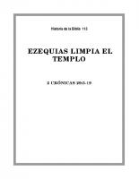 113 Ezequias limpia el Templo