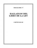 117 Hallazgo del libro de la Ley