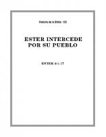 129 Ester intercede popr su pueblo