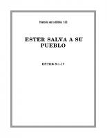 133 Ester salva a su pueblo