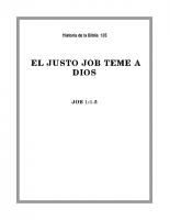 135 El justo Job teme a Dios