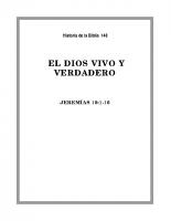 148 El Dios Vivo y Verdadero (1)
