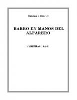 149 Barro en manos del Alfarero