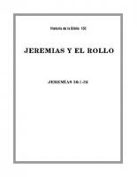 150 Jeremias y el Rollo
