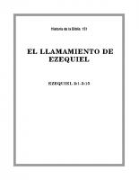151 El llamamiento de Ezequiel