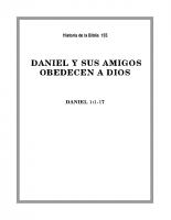 155 Daniel y sus amigos obedecen a Dios (1)
