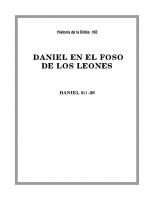 160 Daniel en el fozo de los Leones