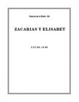 164 Zacaraias y Elizabet