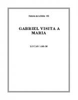 165 Gabriel visita a Maria