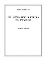 172 El Niño Jesús visita el Templo