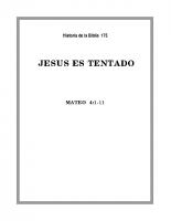 175 Jesús es tentado