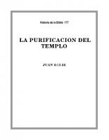 177 La purificación del Templo