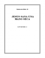181 Jesús sana una mano seca