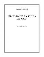 190 El hijo de la viuda de Nain